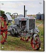 1940 Case Tractor Acrylic Print