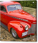 1940 Chevrolet 2 Door Sedan Acrylic Print