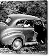 1940 Chevrolet Special Deluxe 4 Door Acrylic Print