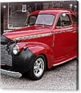 1940 Chevy Coupe Acrylic Print
