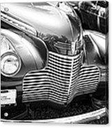 1940 Chevy Grill Acrylic Print