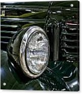 1940 Dodge Pickup Headlight Grill Acrylic Print
