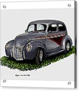 1940 Ford Custom Street Rod Acrylic Print