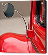 1940 Ford Deluxe Coupe Rear View Mirror Acrylic Print