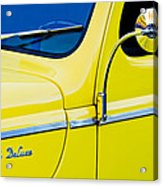 1940 Ford Deluxe Side Emblem Acrylic Print