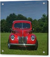 1940 Ford Deluxe  Acrylic Print