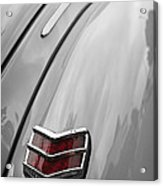 1940 Ford Taillight Acrylic Print