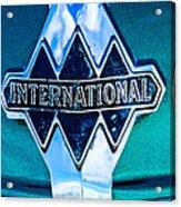 1940 International Emblem Acrylic Print