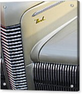 1940 Nash Grille Acrylic Print by Jill Reger
