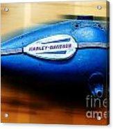 1940s Harley Tank Acrylic Print