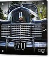 1941 Cadillac Front End Acrylic Print