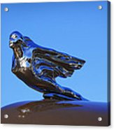 1941 Cadillac Series 62 Coupe Hood Ornament Acrylic Print
