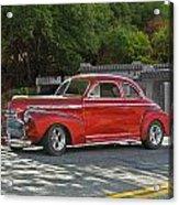 1941 Chevrolet 'super Deluxe' Coupe Acrylic Print