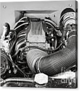 1941 Ford Pickup Engine Motor  Classic Automobile In Sepia 3082.01 Acrylic Print