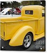 1941 Ford Pickup Truck Side View  Classic Automobile In Color 30 Acrylic Print
