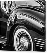 1941 Packard 110 Deluxe -1092bw Acrylic Print
