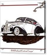 Packard Custom Coupe 120 Acrylic Print