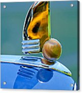 1942 Lincoln Continental Cabriolet Hood Ornament Acrylic Print