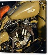 1942 Wla Harley Davidson Acrylic Print