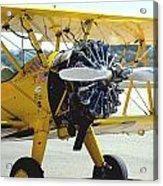 1943 Boeing Super Stearman 2 Acrylic Print