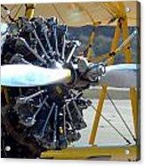 1943 Boeing Super Stearman Acrylic Print