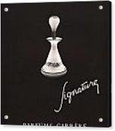 1946 Advertisement Parfums Carrere Signature Perfume Acrylic Print