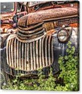 1946 Chevrolet 2 Ton Acrylic Print by Robert Jensen