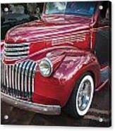 1946 Chevrolet Sedan Panel Delivery Truck  Acrylic Print