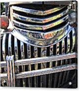 1946 Chevrolet Truck Chrome Grill Acrylic Print