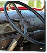 1946 Chevy Dash Acrylic Print