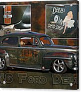 1946 Ford Deluxe Acrylic Print