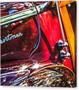 1946 Ford Super Deluxe Sportsman Convertible Side Emblem Acrylic Print
