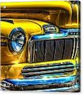 1946 Mercury Eight Street Rod Grille Acrylic Print
