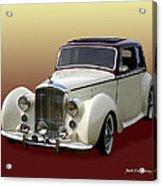 1947 Bentley M K  5   G T X  Acrylic Print
