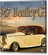 1947 Bentley Acrylic Print