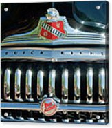 1947 Buick Sedanette Grille Acrylic Print