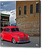 1947 Ford Coupe Acrylic Print