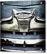 1947 Ford Deluxe Grille Emblem Acrylic Print