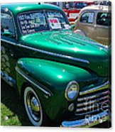 1947 Ford Super Deluxe Acrylic Print