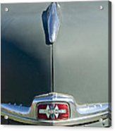 1947 International Hood Emblem Acrylic Print