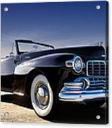 1947 Lincoln Continental Acrylic Print