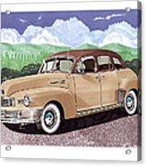 1947 Nash Statesman Acrylic Print by Jack Pumphrey