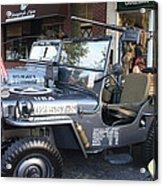 1947 Us Army Jeep Side View Acrylic Print