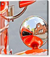 1948 Anglia Rear View Mirror -451c Acrylic Print