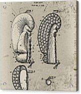 1948 Boxing Glove Patent Acrylic Print