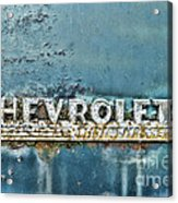 1948 Chevrolet Thrift Master Acrylic Print