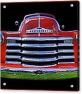 1948 Chevy Pickup W/badge Acrylic Print