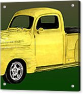 1948 Custom Ford Pick Up Acrylic Print