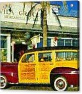 1948 Ford Woody Station Wagon Acrylic Print