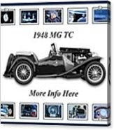 1948 Mg Tc Acrylic Print
